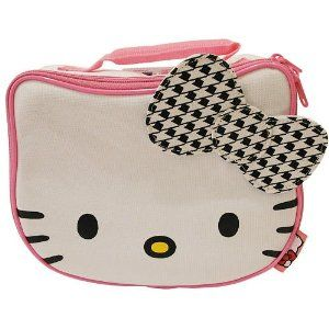 Hello Kitty Soft Lunch Box Insulated Bag White Cat Lunchbox