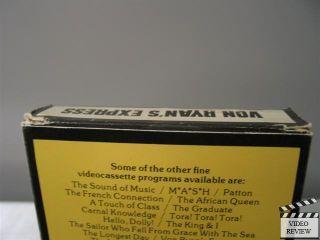 Von Ryans Express VHS 1980 Magnetic Video Frank Sinatra Trevor Howard