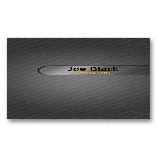 Metal Grunge Business Card Template