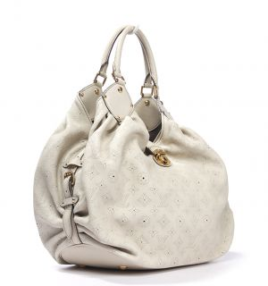 Louis Vuitton Mahina Large Gris Ivory Bag
