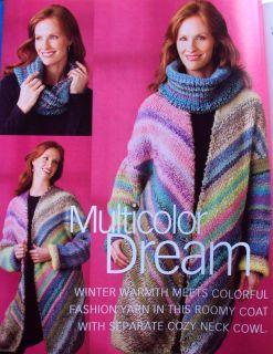 Knitting 45 Patterns Multicolor Coat Loop Stitch Hat Jacket Fair Isle