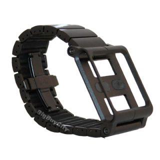 New LunaTik Lynk Watch Wrist Strap Snap in Case for iPod Nano 6g Black