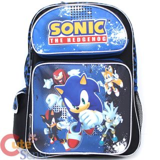 The Hedgehog School Backpack Group 16 Large Bag with Lunch Pail Set