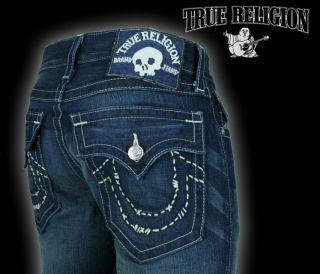 True Religion Jeans Mens Billy Handstitch Logo Revolver