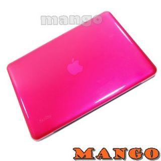 Hot Pink Crystal Hard Case Cover for MacBook Pro 13