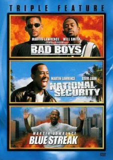 Bad Boys National Security Blue Streak Tripl New DVD