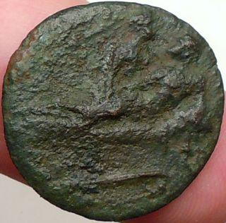 Erotic Spintriae Love Scene Tiberius 22AD Roman Coin