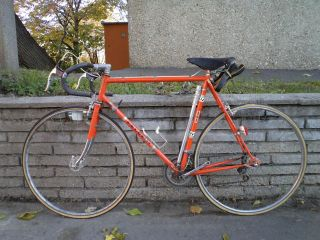 vintage Peugeot road bicycle, MINT Stronglight AVA Ideale 80 Simplex