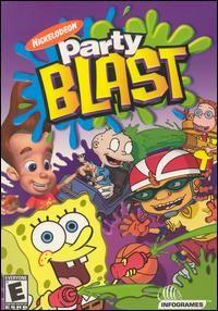 Nickelodeon Party Blast PC CD Kids Popular TV Series Cartoon