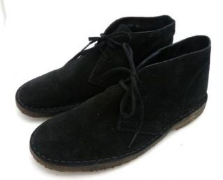 JCrew Suede MacAlister Boots 5 Mens 7 5 Womens Black