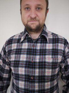Vtg 50s Pendleton MacRae Tartan Plaid Wool Shirt USA