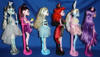 Monster High OOAK Alice in Wonderland Dolls Lot Lagoona Operetta