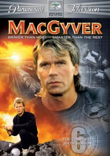MacGyver Season 6 New SEALED 6 DVD Set