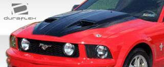 FRP Ford Mustang MACH1 Hood Kit Auto Body 1 PC 87 09 Great