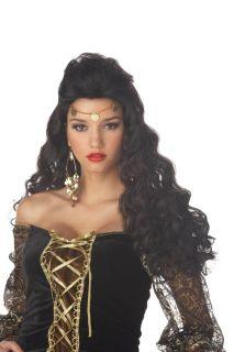 Madame Destiny Halloween Gypsy Costume Wig