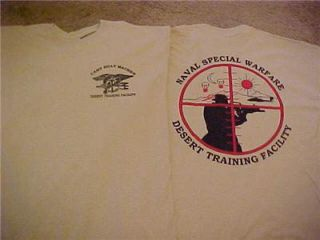 WARFARE DESERT TRAINING CAMP BILLY MACHEN DESERT TEAM SHIRT SZ. LARGE