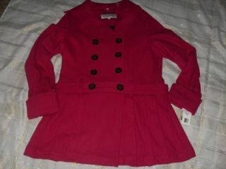 Steve Maddon Trendy Pink Double Breasted Coat XL