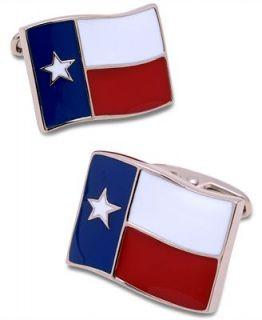 Geoffrey Beene Cufflinks, Texas Flag Cufflinks