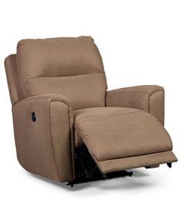 Havana Fabric Power Recliner Chair, 38W x 41D x 40H