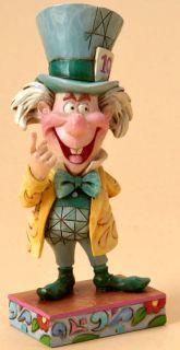Jim Shore Disney Trad Mad Cap Mayhem Mad Hatter