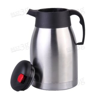 Stainless Steel Vacuum Hot Cold Water Drink Tea Coffee Pot