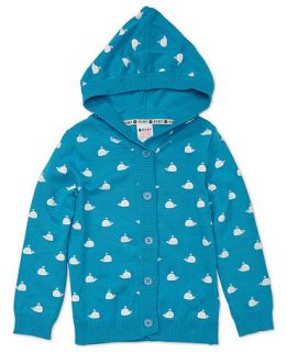 Roxy Kids Sweater, Little Girls Hooded Cardigan   Kids