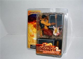 Jimi Hendrix 2 Monterey McFarlane Music Legend Figurine Guitar Amp New