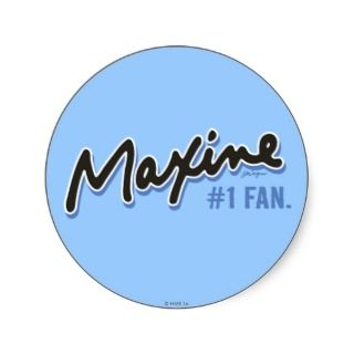 Maxine Number 1 Fan Stickers