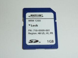 Magellan Roadmate 1200 GPS Navigation USA Map SD Card