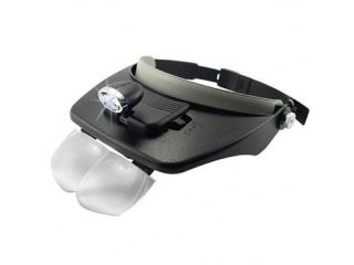 Head Visor Magnifying Glasses Headlight Light Lamp