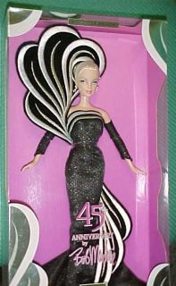 2003 Bob Mackie 45th Anniversary Barbie Doll Mint