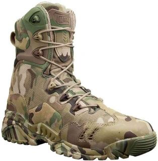Magnum 5380 Mens Spider 8 1 HPI Lace Up Multicam Suede Leather Boots