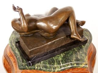 Heavy Modern Art Bronze The Flow by Aristide Maillol