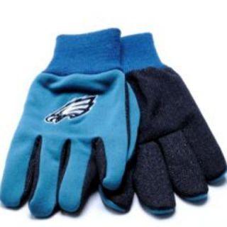 Philadelphia Eagles Football Pair Licensed Work Gloves