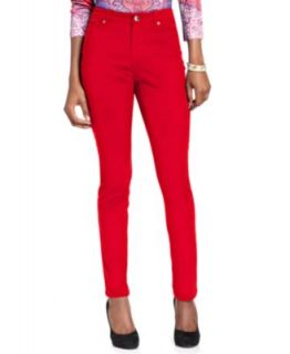 Style&co. Jeans, Bootcut Studded, Colored Wash   Womens