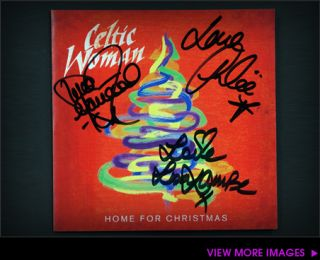 MC Home for Christmas CD Autographed by Celtic Woman