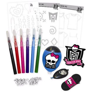 Monster High Design A Shirt Set Create Your Own NIB