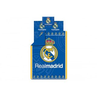 REAL MADRID SOCCER TIM  BEDDING SET  PIECES DUVET COVER/ FITTED SHEET
