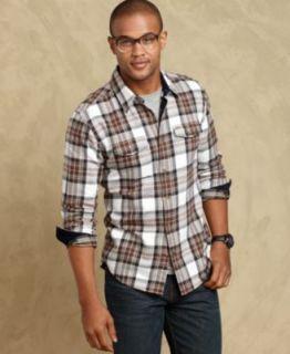 Tommy Hilfiger Shirt, Holyrod Poplin Long Sleeve Shirt   Mens Casual