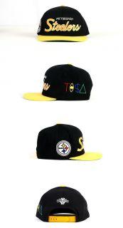 Pittsburgh Steelers Tisa TI$A Cap Hat Black