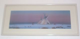 Signed Numbered Daniel Maldonado Native Indian Print