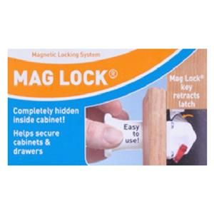 Dream Baby Mag Lock On/Off Magnetic Cabinet Child Safety Latch   Lock