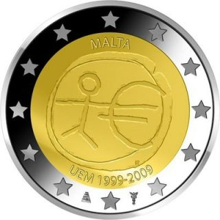 Malta 2009 2 o Commemorative Coin Emu UNC