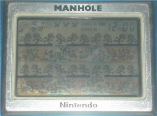 Nintendo Game Watch NH 193 Manhole 1983