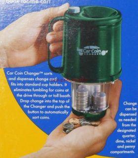 Coin Changer Dispenser Sorter for Cup Holder Magnif 9000 New