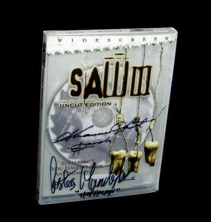 Shawnee Smith Amanda Costas Mandylor Hoffman Autographed Saw 3 DVD New