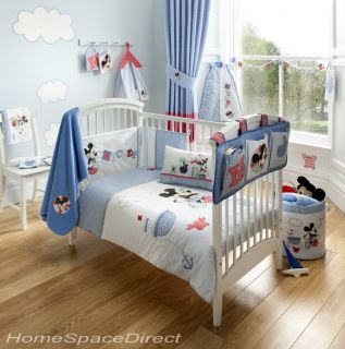 Mickey Mouse Cot Quilt Duvet Matching Nursery Items Official Disney