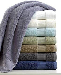 Calvin Klein Bath Towels, Plush Collection
