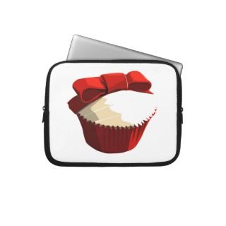 Red velvet cupcake laptop sleeve
