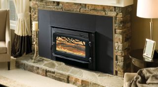Majestic Windsor Series Wood Burning Steel Insert WR2500X02